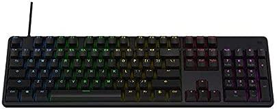 Mishuai Beleuchtete Spieletastatur verdrahtete Laptop-USB-mechanische Gef hltastatur professionelle Spieltastatur