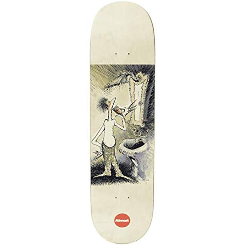 Almost Skateboards Skateboards Skateboards Dr Seuss Art R7 White 8.125 x 31.75 WB 14.25
