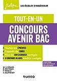 Concours Avenir Bac - Tout-en-un - 4e éd. Tout-en-un