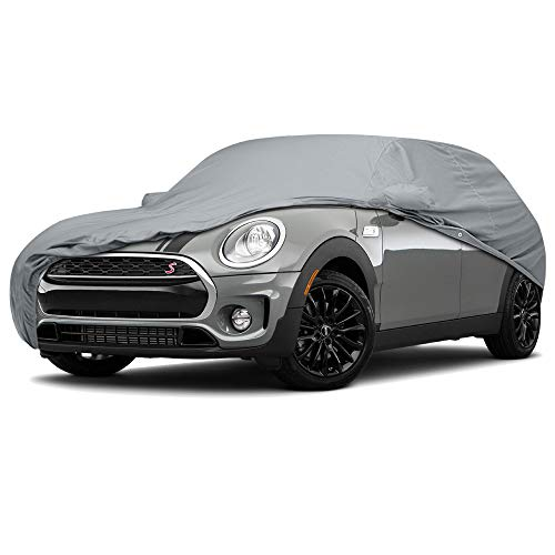 5 Layer Water Resistance Custom Fit Car Cover for Mini Cooper S Model Year 2000-2018