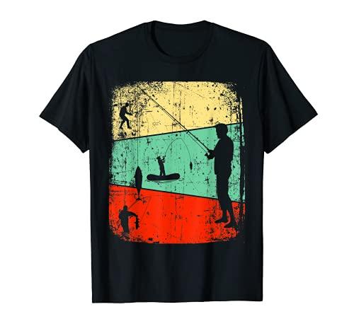 Lustiges Angler Geburtstagsgeschenk Fischen Fischermeister T-Shirt