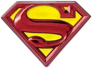 DC Comics Superman Logo Colored Pewter Lapel Pin