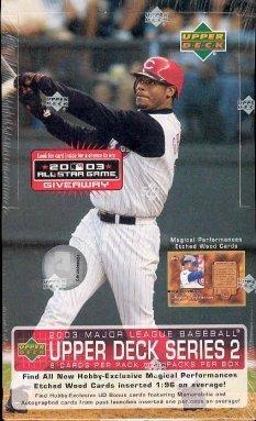 1 (One) Box - 2003 Upper Deck Series 2 Baseball Hobby Box (24 Packs per Box)