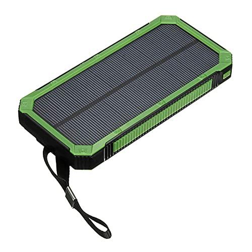 Banco de energía de energía solar Compacto Carga rápida 30000mAH Puerto USB Tipo C Puerto CARGER PORTÁTIL, Paquete de baterías externas de suministro de energía de carga rápida para teléfonos intelige