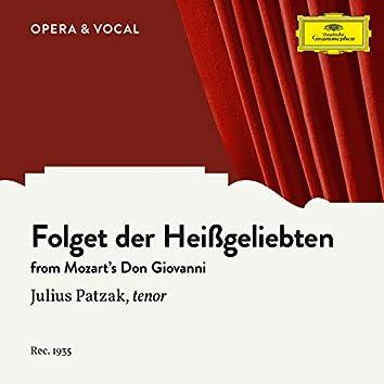 Mozart: Don Giovanni, K. 527, Folget der Heißgeliebten (Sung in German)