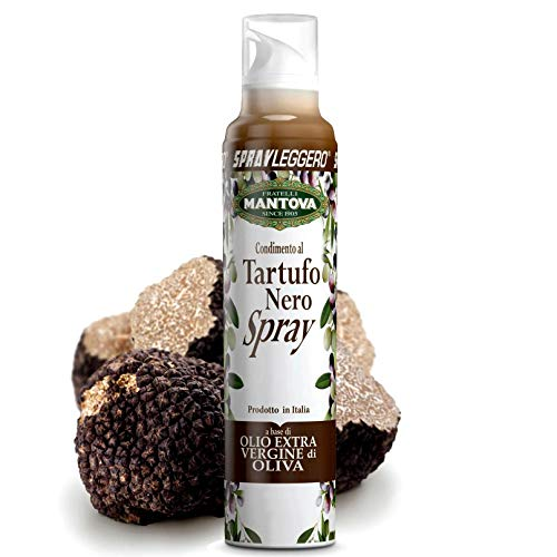 SprayLeggero Mantova Olive & Black Truffle - Trüffelöl zum Braten ohne Treibmittel 100ml