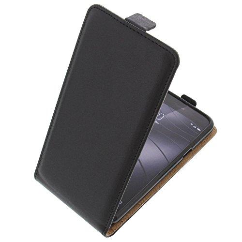 foto-kontor Tasche für Gigaset Me Pure Smartphone Flipstyle Schutz Hülle schwarz