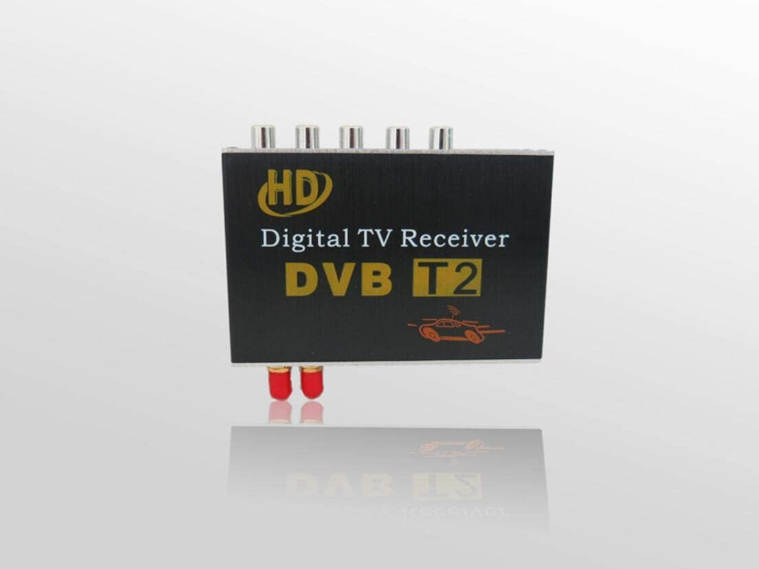 GAX Dual Antenna Satellite Tv Set Top Box Car Digital Tv Box Car Receiver