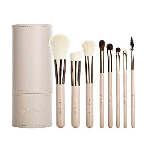 niumanery 8pcs Makeup Brushes for Powder Concealer Blusher Eyeshadow Blush Cosmetic Tools C