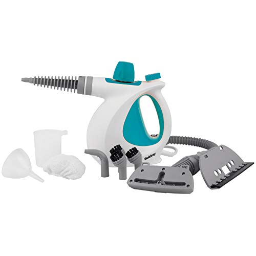 Beldray Steam Cleaner, Best Germ Killer, Turquoise