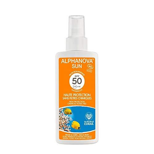 Alphanova - Crema de protección solar (factor de protección 50, 125g)