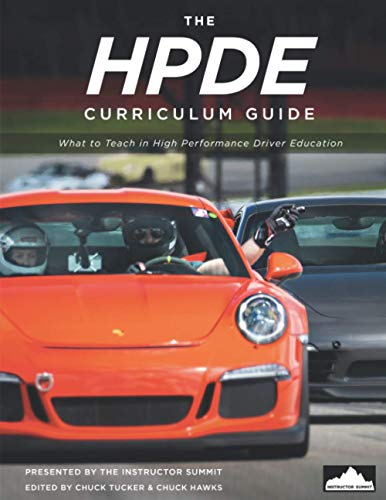 Compare Textbook Prices for The HPDE Curriculum Guide: What to teach in high performance driver education  ISBN 9798588676717 by Tucker, Chuck,Hawks, Chuck,Cash, Lee,Curtis, April,DuBois, David,Kendall, Alan,Meyer, Eric,Puffer, Peter,Santiago, John,Sullivan, Pat
