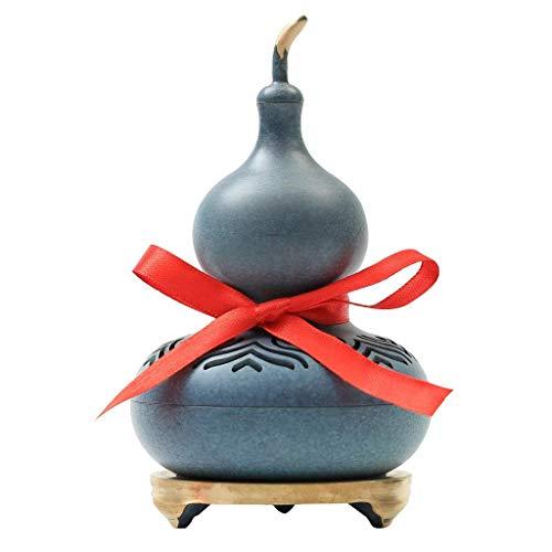 Soportes de incienso para el hogar, quemador de incienso, calabaza, quemador de incienso de cobre puro, hogar, interior, creativo, horno de aromaterapia, oficina, Lucky Feng Shui, adornos, decoración