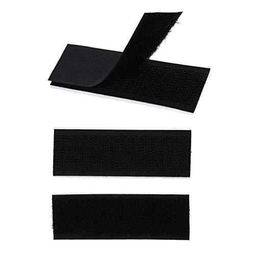 ULTNICE 100-Teiliges Klebeband mit Klebeband Und Klettband Zur Befestigung von Hängenden Oder Organisierenden Gegenständen im Innen- Und Außenbereich