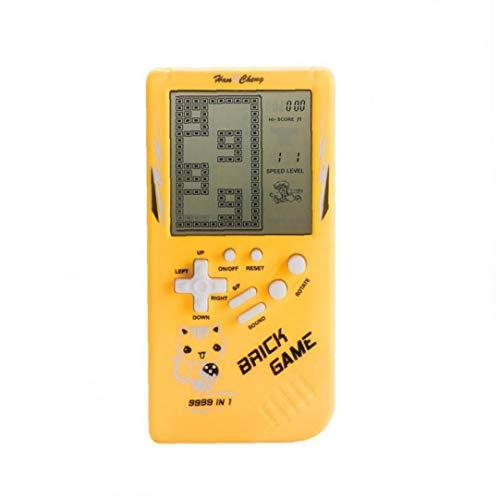 Ayrsjcl Held 1pc Console Portatile Retro Classic Mano Mini Gioco Riproduttore Video Gioco Elettronico di Supporto Console Brick Game Riddle Giocattoli LCD
