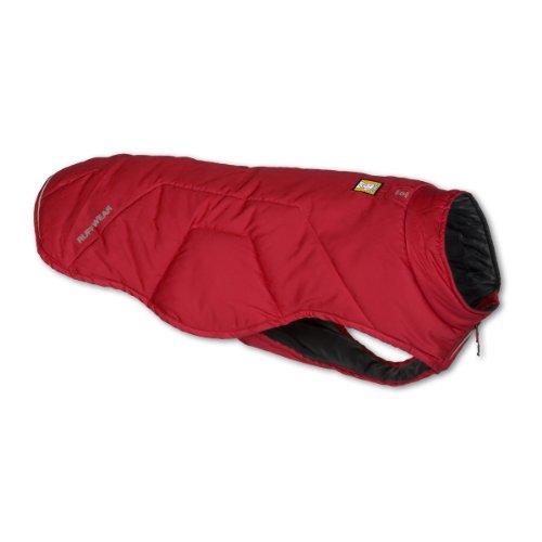 Ruffwear Quinzee Hundemantel, rot, XXS