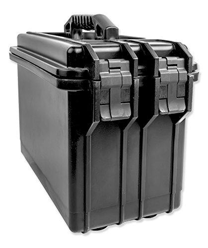 Tufkase Caja de almacenamiento para munición, impermeable, de grado militar
