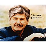 Charles Bronson Autographed Photo