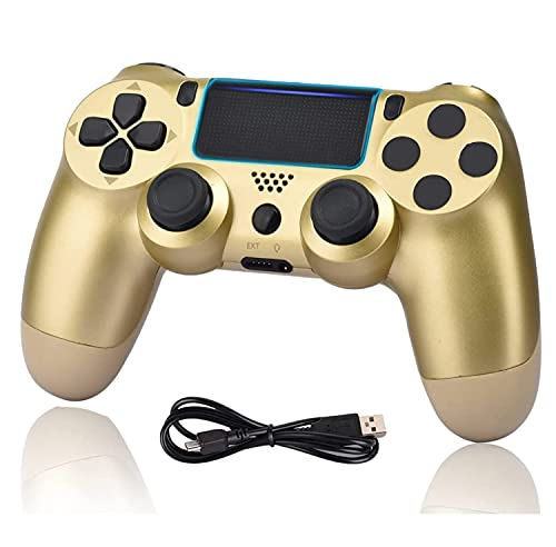 Wiv77 Wireless Controller Compatible with PS4, Remote Gamepad Manette...