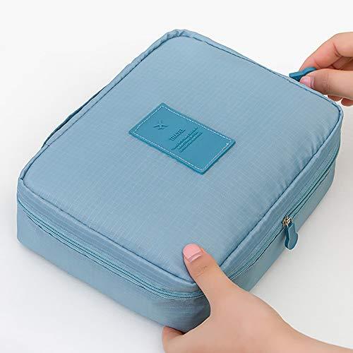 LSS make-up tas vrouwen, waterdichte cosmetische tas draagbare Travel Kit Organizer voor zakelijke vakantie huishoudelijke toiletten toilettas kit