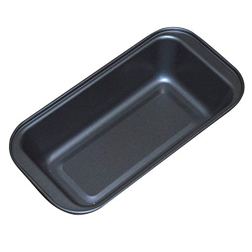 Nonstick Loaf Pan, 7 X 4 Inch Carbon Steel Toast Pan for Baking Bread with Oven, Gray set of 1