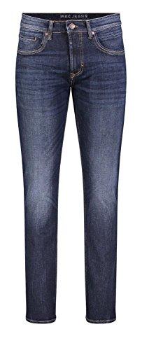 MAC Jeans Herren ARNE Pipe Slim Jeans, Blau (Dark Blue Authentic Used H781), W32/L32