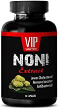 anti-aging men - NONI EXTRACT 500 Mg - IMMUNE BOOSTER - noni gia - 1 Bottle (60 Capsules)