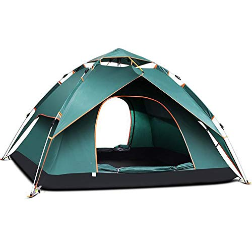 MXQHH Outdoor 2-3 Person Tent Tent with Storage Package,Aluminum Pole Camping Outdoor Ultralight Easy Set Up Rainproof Tent for Outdoor/Riding/Hiking/Camping