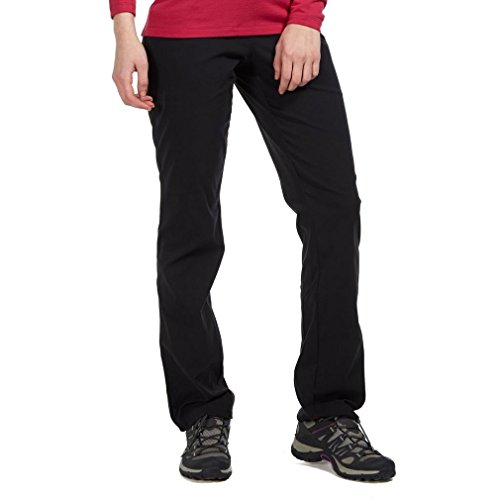 Mountain Hardwear Women's Dynama Pant, Black, Small Regular