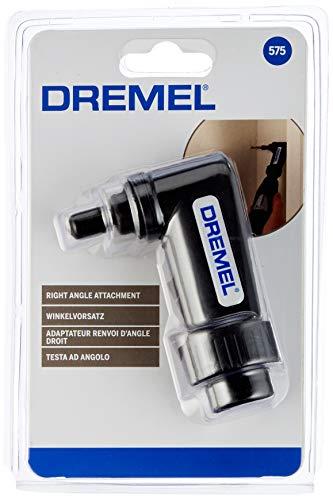 Dremel 575 Winkelaufsatz (Winkelgetriebe zum Bohren, Polieren, Schneiden, Schleifen, Scharfen und Reinigen im rechten Winkel)