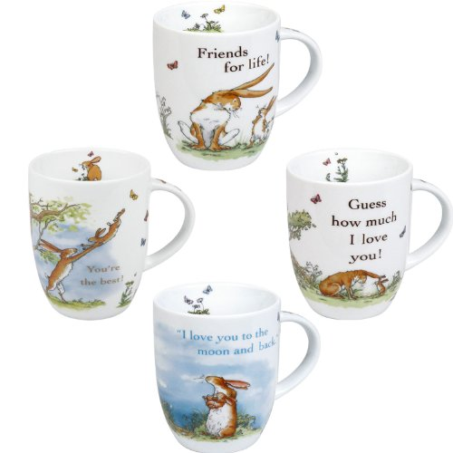Konitz Mugs Guess How Much I Love you Collection Mugs, Set of 4