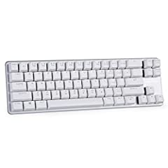 Mini and portable design,unique 68 keys layout OUTEMU mechanical switches keyboard (Cherry MX equivalent) Perfect size fits for laptop, Ergonomic step wise key cap, linear action, no frame design Mechanical gaming keyboard,USB connection - removable ...