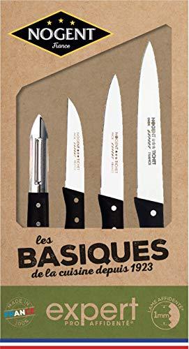 Nogent*** 00087V Les Basiques Coffret Couteau Cuisine Affidenté