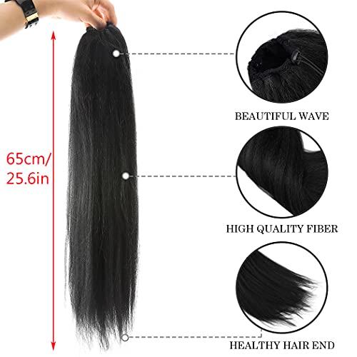 Afro kinky ponytail _image3