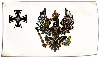 XXL Flagge Fahne Preußen Kriegsflagge 1903-1920 150 x 250 cm