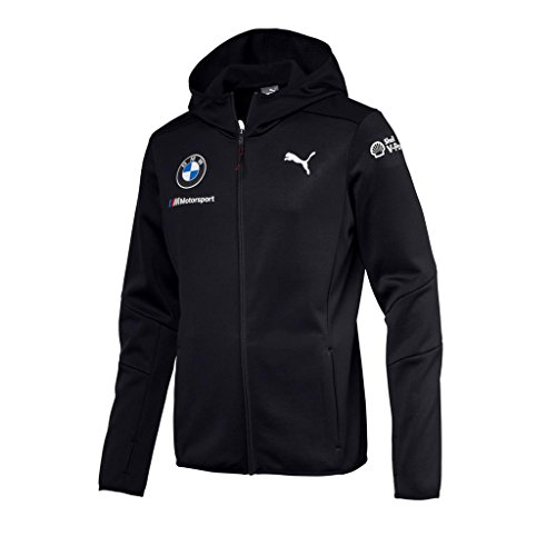 PUMA Herren BMW MOTORSPORT TEAM MIDLAYER JACKET Jacke, anthrazit, M