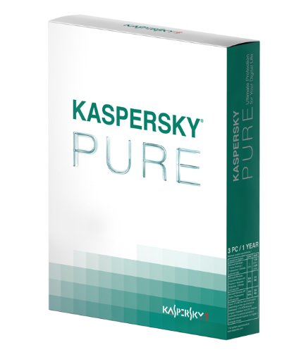 Kaspersky PURE - DVD Box (3 postes / 1 an)
