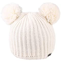 Kids Baby Hat is double layer, warm enough: head size 46-50cm (18.2-19.6 inches). Suitable for 1-6 years old children Kids Winter Scarf Set: Loop scarf width 9.4 inch(24cm), loop scarf circumference 43 inch(100cm) Azo Free Knit Beanie Hats for Baby: ...