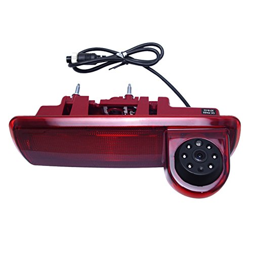 FEELDO Caméra de recul 6 LED IR pour Opel Vivaro/Renault Trafic 2014