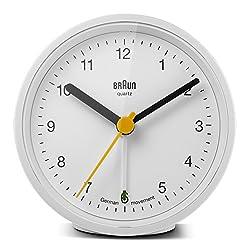 Braun BNC012WHWH Quartz Alarm Clock