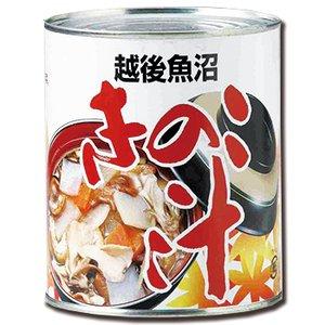 缶詰 惣菜 きのこ汁 2号缶 (3-4人分) (和食 煮物 非常食 保存食 にも)