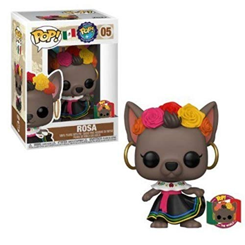 Funko POP! Around The World #05 Rosa (with Pin) Exclusive