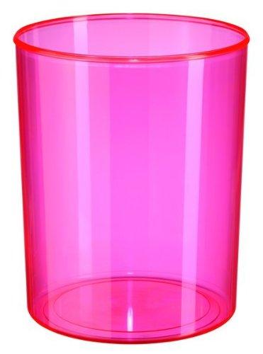 Han 18131-76 Elegance - Papelera con Capacidad de 13 litros, Color Rosa