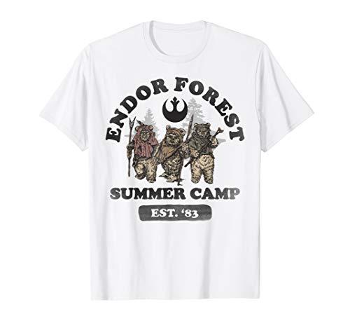 Star Wars Ewok In Forest Summer Camp T-Shirt