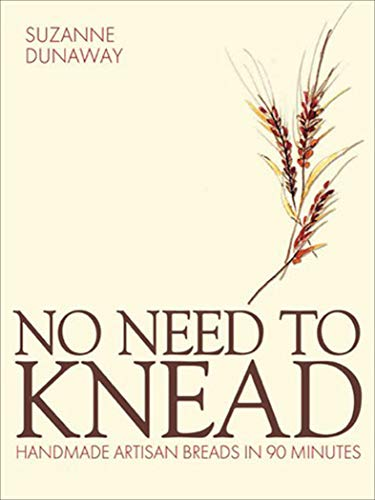 No Need to Knead: Handmade Artisan Breads in 90 Minutes (English Edition)