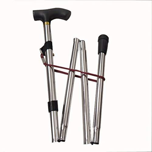 Haishan CZDSZ Walking stick Ultralight aluminum folding cane...