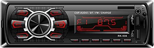 Car Radio, Lypumso Autoradio FM Stereo Bluetooth 60W * 4 Double USB Quick...