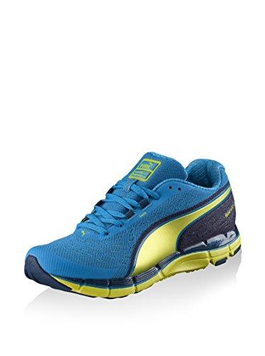 Puma Faas 600 v3 s - Zapatillas de Running para Hombre, Cloisonne-Poseidon-Sulphur...