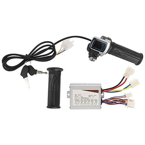 Controlador de Bicicleta eléctrica 36V 350W cantidad eléctrica empuñadura del Acelerador con...