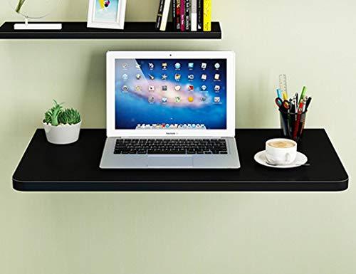 LXDZXY Escritorio de la computadora montado en la pared del hogar - Mesa de comedor plegable de la cocina de la mesa de la computadora del colgante de pared de madera sólida Mesa de trabajo C